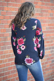 Laiken Floral Sweater Top