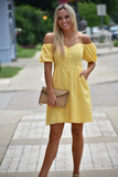 Old Harbor Cold Shoulder Dress