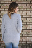 Opal Button Front Slouchy Cardigan Sweater