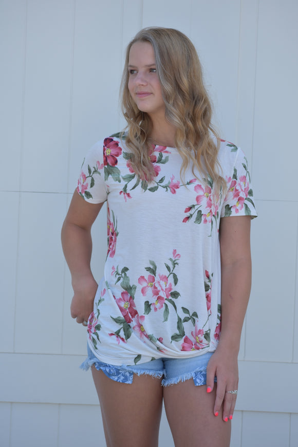 Sadie Floral Top