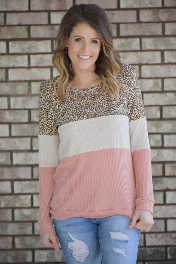 Spring Fever Animal Print Top