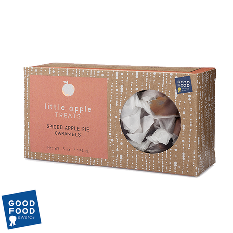 Spiced Apple Pie Apple Cider Caramels Box