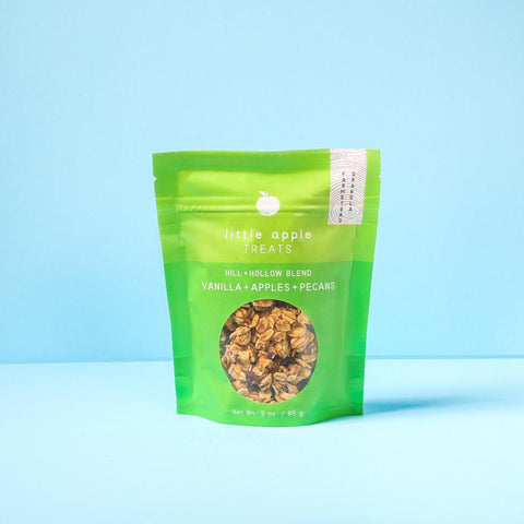Image of small green bag with granola hill and hollow blend