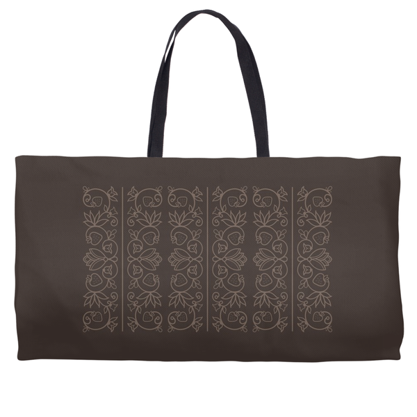 Brown Tote: Wedding Collection - Soul Curiosity