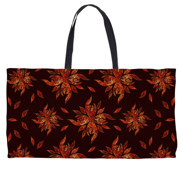 Native & Metis Tote: Fire Collection - Soul Curiosity