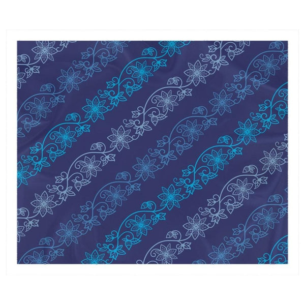 Native & Metis Azure Sherpa Blanket: Water Collection - Soul Curiosity