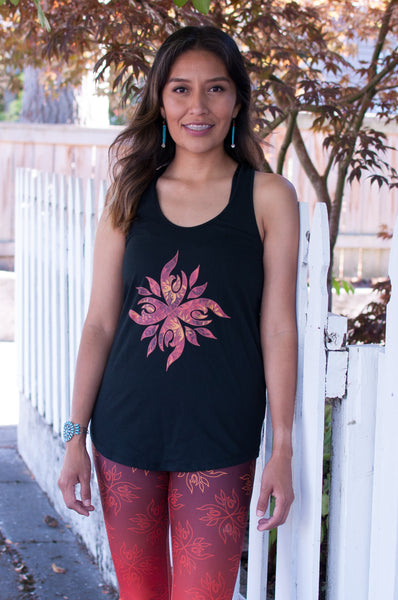 Authentic Native & Metis Graphic Tank: Fire Collection - Soul Curiosity