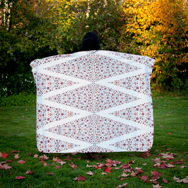 Native & Metis Native Roots Sherpa Blanket: Earth Collection - Soul Curiosity