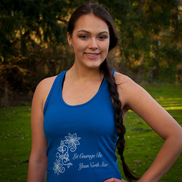 Cotton Racerback Tank: Water Collection - Soul Curiosity