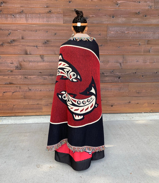 Native & Metis Woven Blanket: Native Pride Collection - Soul Curiosity
