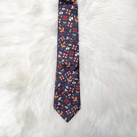 Authentic Native & Metis Tie: Earth Collection - Soul Curiosity