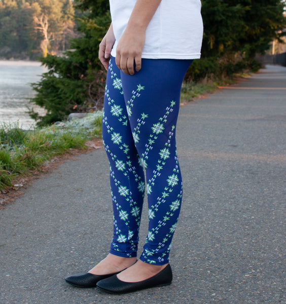 Native & Metis Seahawk Leggings: Seahawk Collection - Soul Curiosity