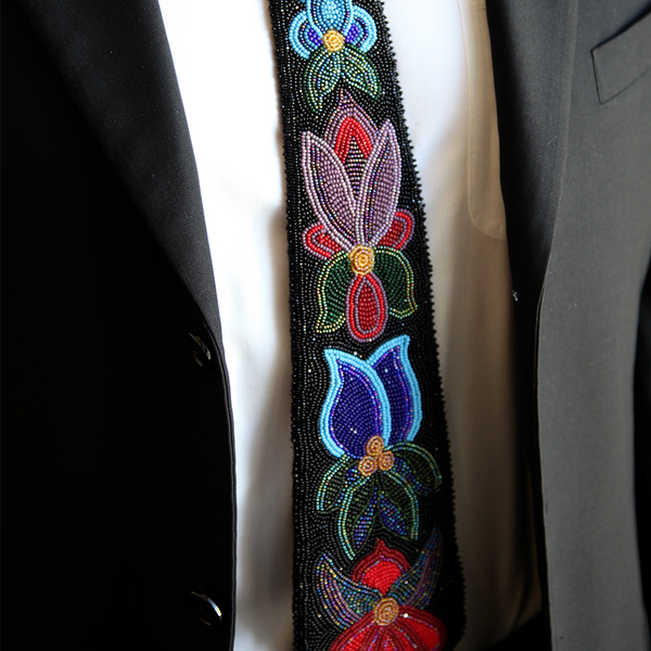 Beaded Necktie - Soul Curiosity