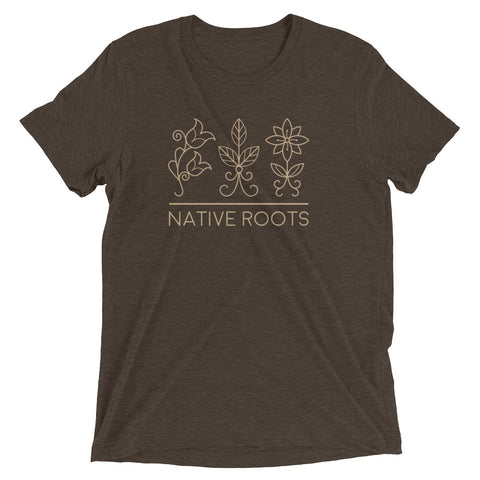 Authentic Native & Metis Tri-blend Roots Tee: Earth Collection - Soul Curiosity