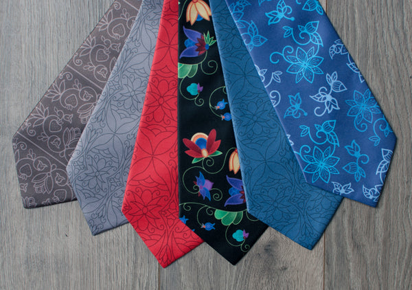 Authentic Native & Metis Tie: Renewal Collection - Soul Curiosity