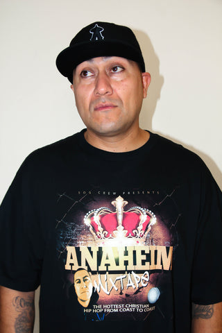Anaheim Mixtape Black T-Shirt