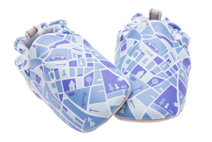 Maps Mini Shoes