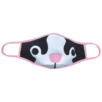 Frenchie Kids Reversible Face Mask