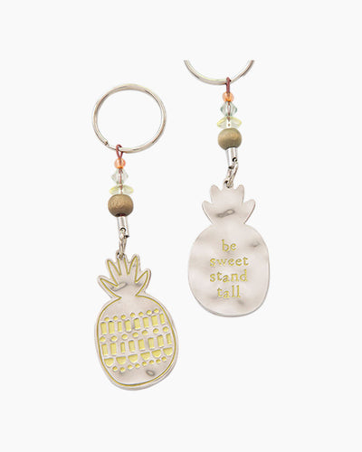 Be Sweet Pineapple Token Keychain