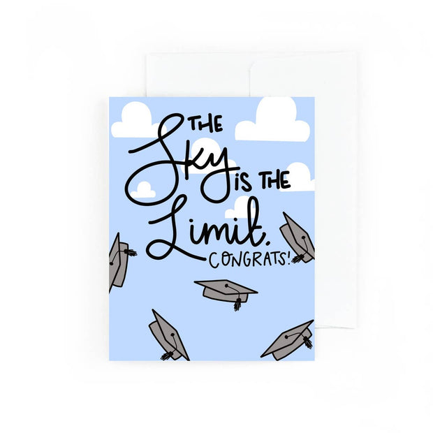 The Sky is the Limit Graduation Card