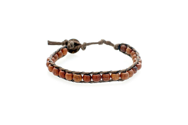 Dawn Patrol Wood Men's Bracelet