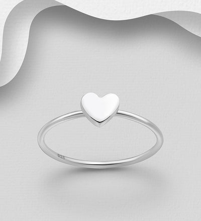 Tiny Heart Ring