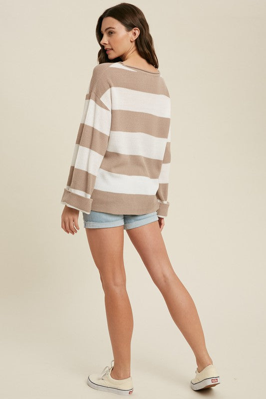 Nantucket Striped Pullover