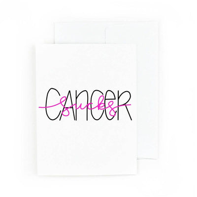 Cancer Sucks Card