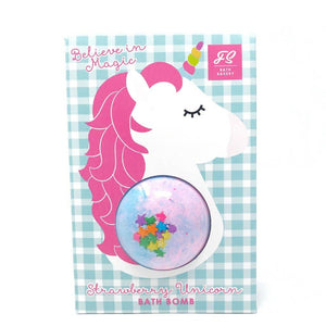 Strawberry Unicorn Bath Bomb Bag