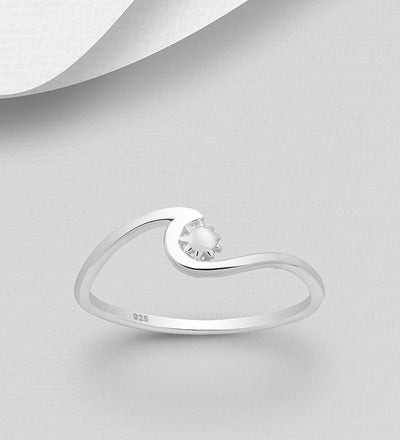 Beach Wave Ring
