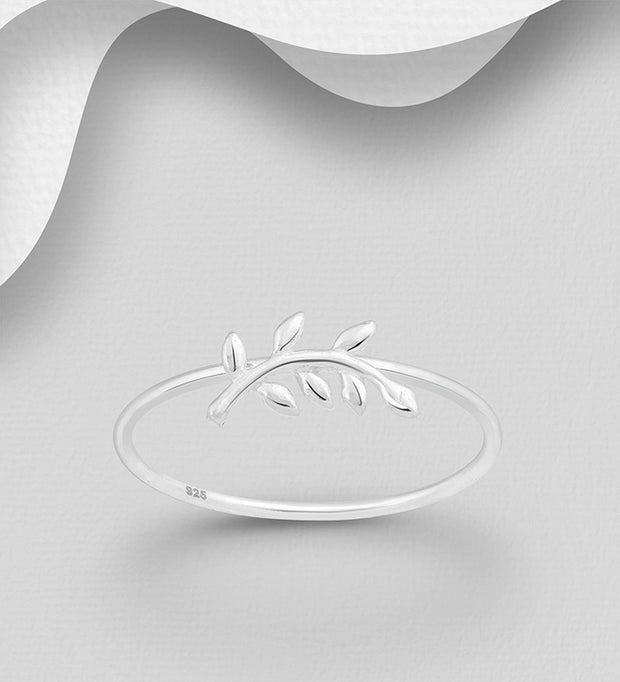 Leafed Branch Ring