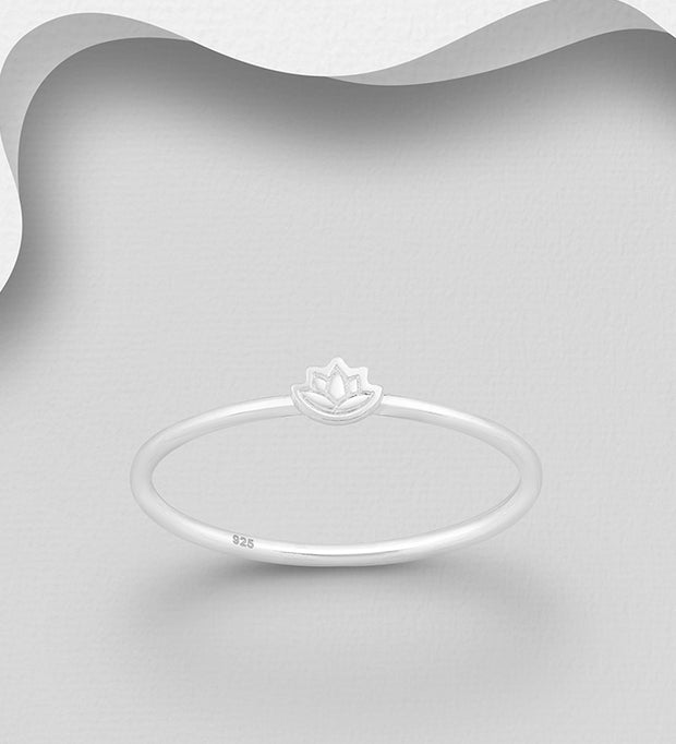 Delicate Lotus Ring