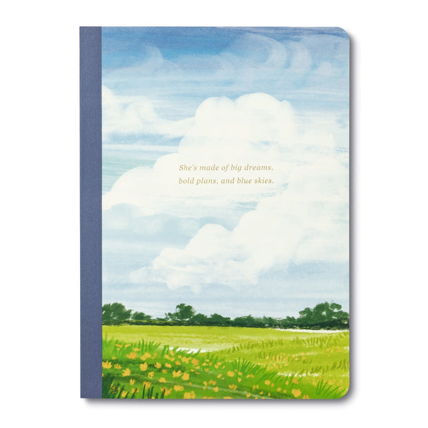 She's Made of Big Dreams Notebook