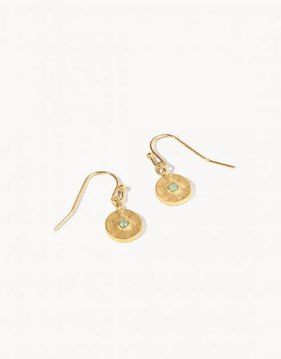 Dot Pacific Opal Drop Earrings