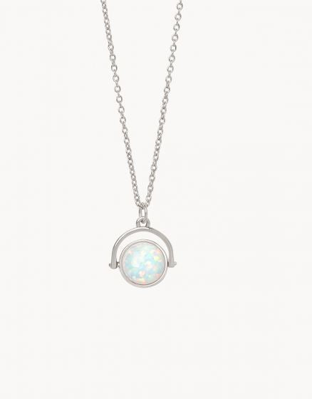 Sea La Vie To The Moon Back Reversible Necklace