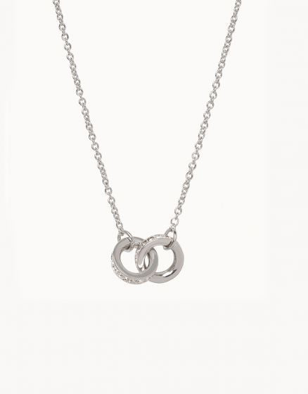 Unbreakable Double Ring Necklace