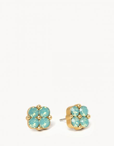 Blessed Clover Stud Earrings