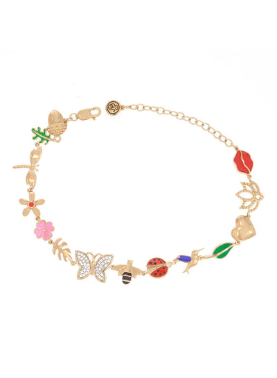 Spring Bloom Diamond Accent Bracelet