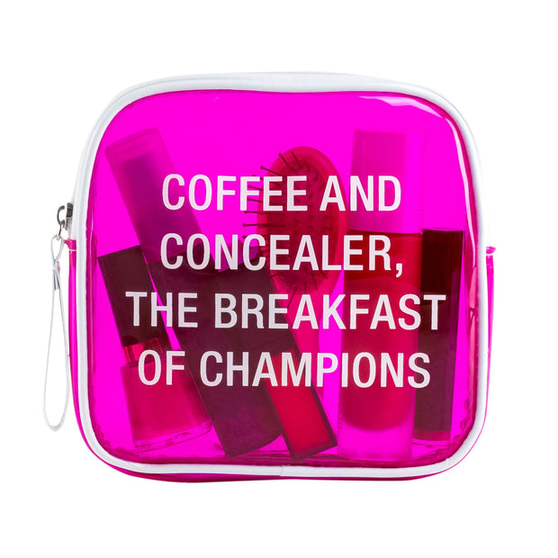 Coffee & Concealer Makeup Bag