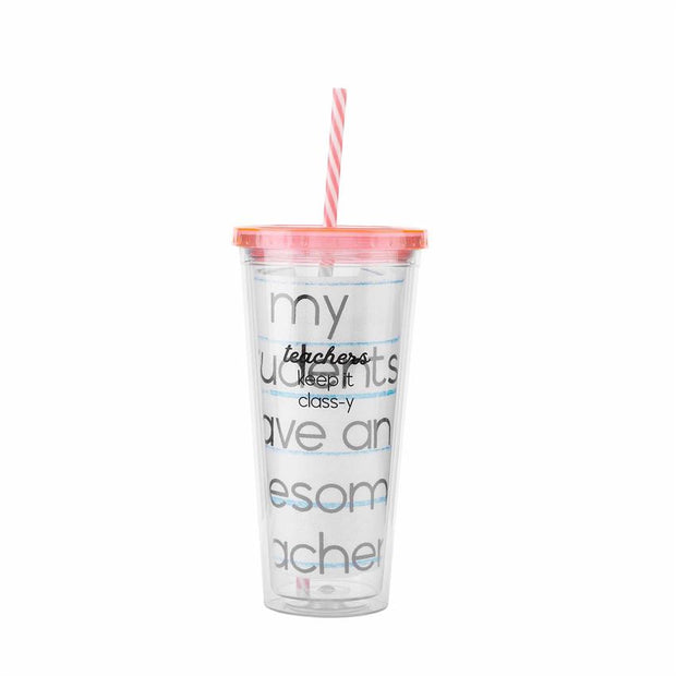 Teacher Tumbler & Towel Set