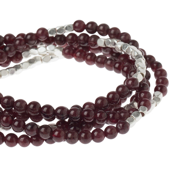 Scout Curated Wears Stone Wrap- Garnet