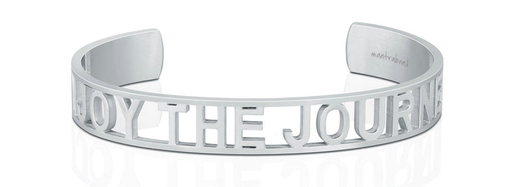 Enjoy The Journey Statement Bracelet