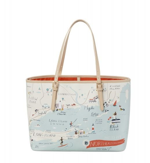 Northeastern Harbors Tote