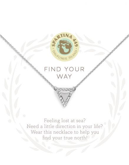 Find Your Way Arrow Necklace