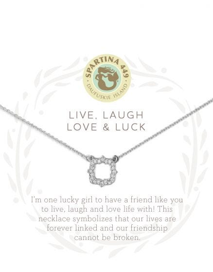 Luck Quarterfoil Necklace