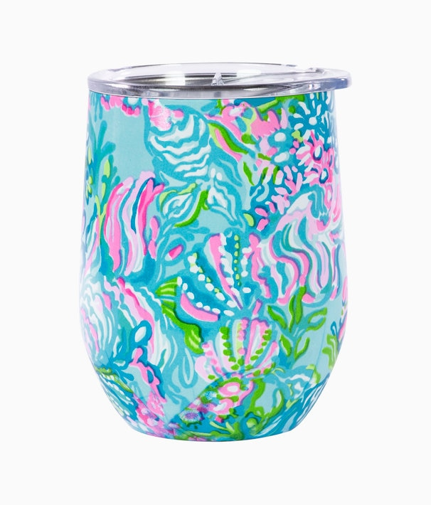 Insulated Stemless Tumbler in Blue Ibiza Aqua La Vista