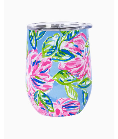 Insulated Stemless Tumbler in Multi Totally Blossom