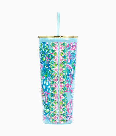 Tumbler in Blue Ibiza Aqua La Vista