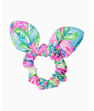 Hair Scrunchie in Multi Totally Blossom