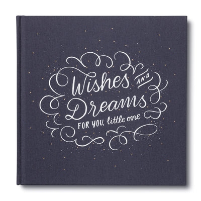 Wishes & Dreams for You, Little One, New Baby Guest Book